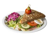 Luxe broodje gezond