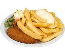 Schnitzel met frites