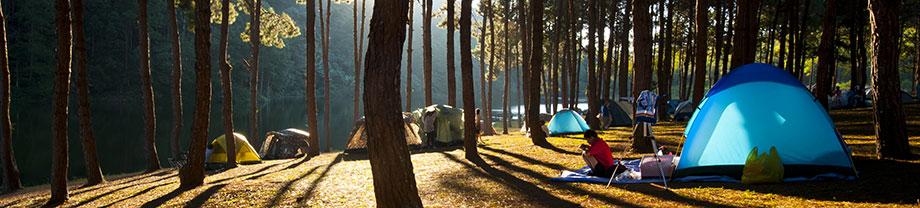 Reiniging en onderhoud van tenten