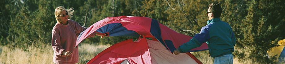 Uw tent opbergen na de vakantie