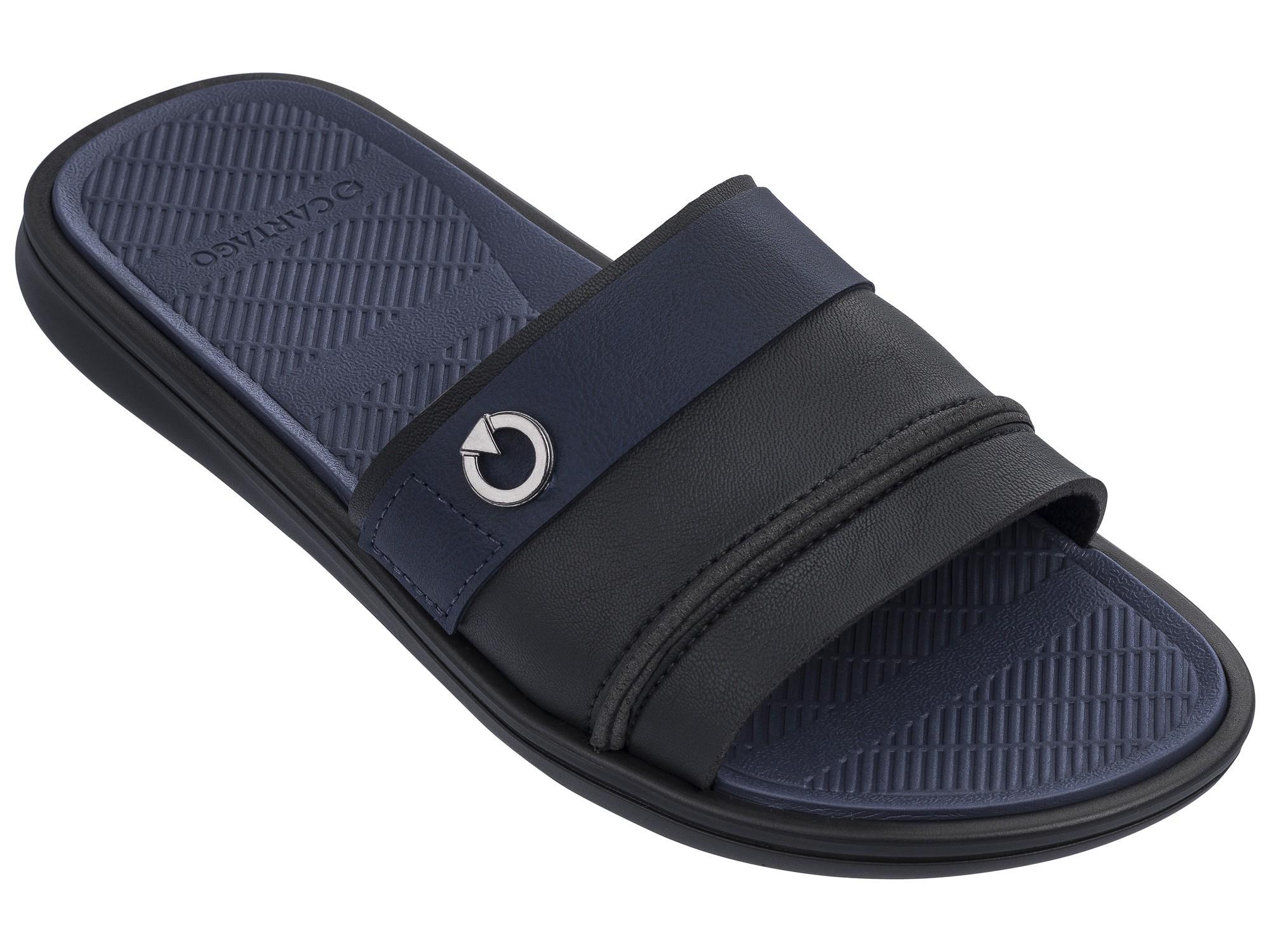 Afbeelding van Cartago Firenze Slippers Heren Black Blue EU 41