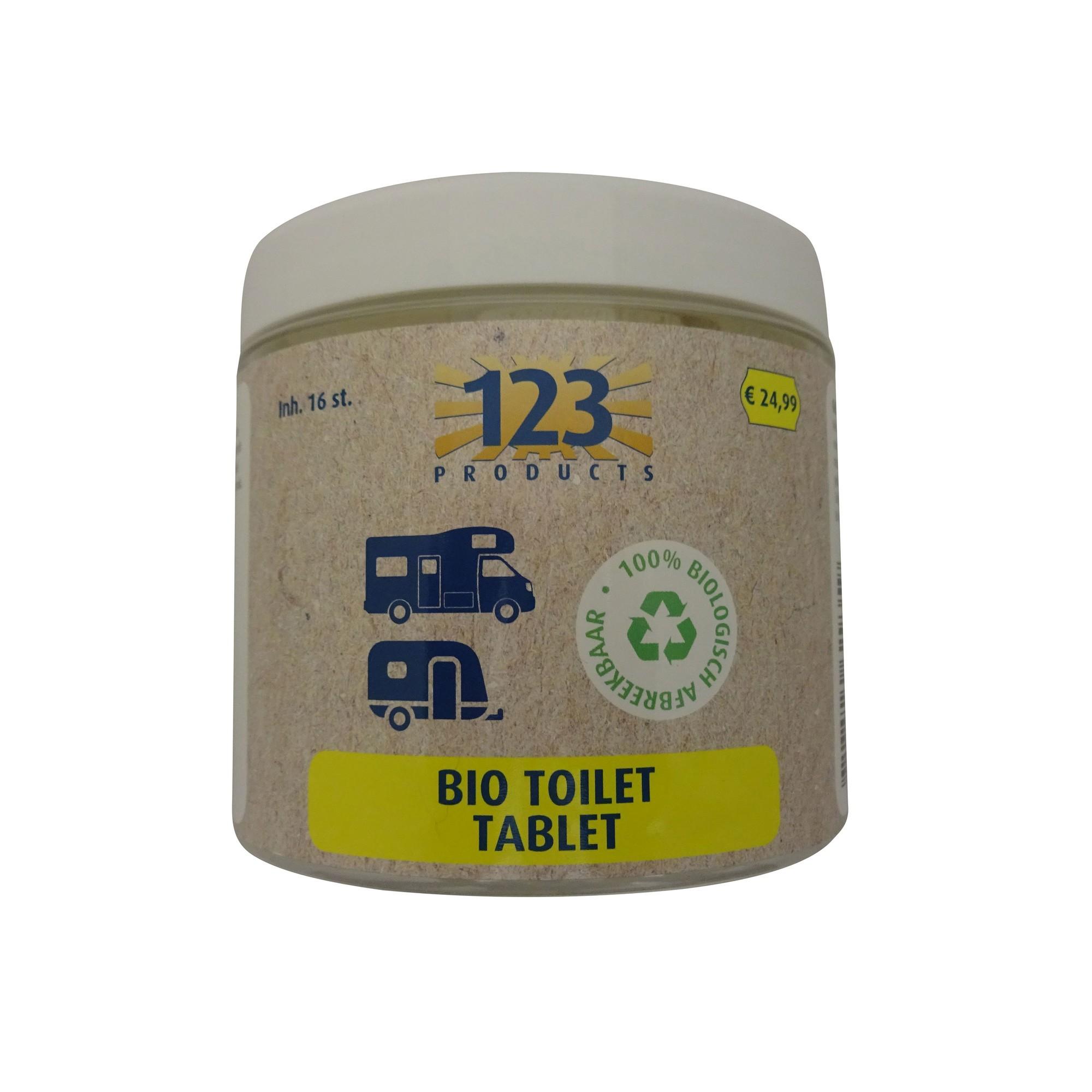 Afbeelding van 123 Products Bio Toilet Tabletten