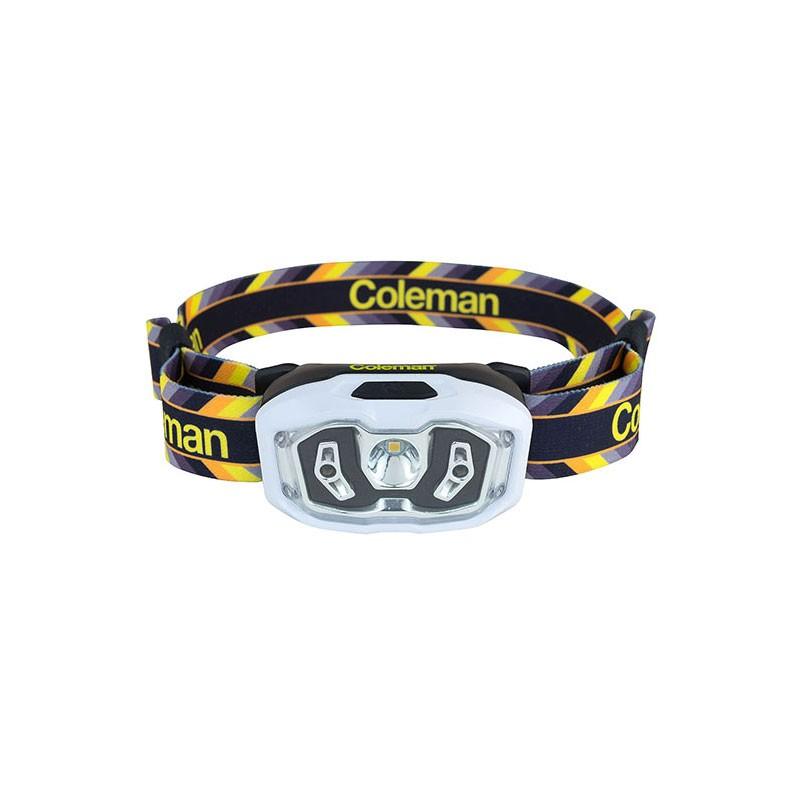 Afbeelding van Coleman CHT+100 BatteryLock Headtorch Hoofdlamp Lemon