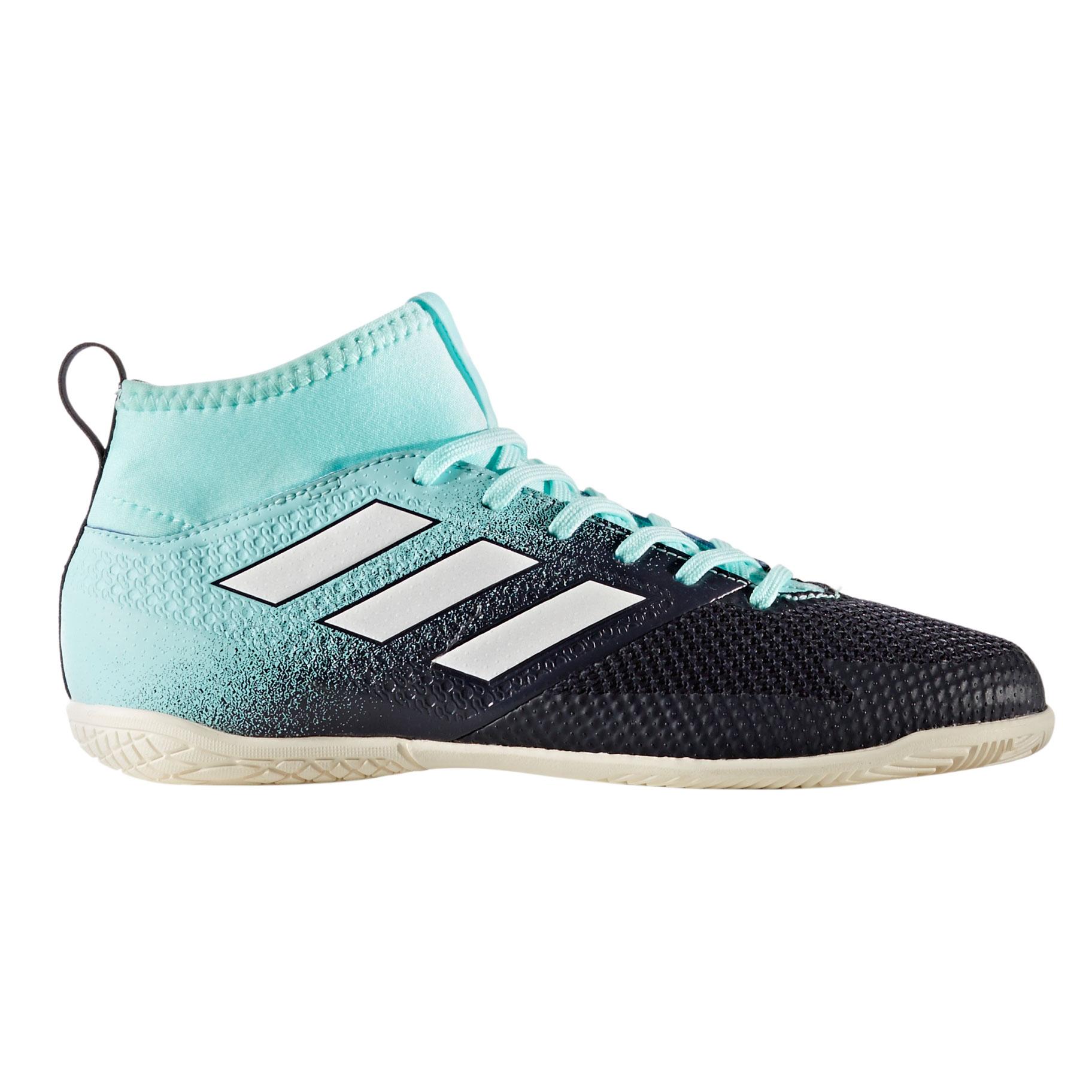 Afbeelding van Adidas Ace Tango 17.3 CG3713 Zaalvoetbalschoenen Junior Energy Aqua Footwear White Legend Ink