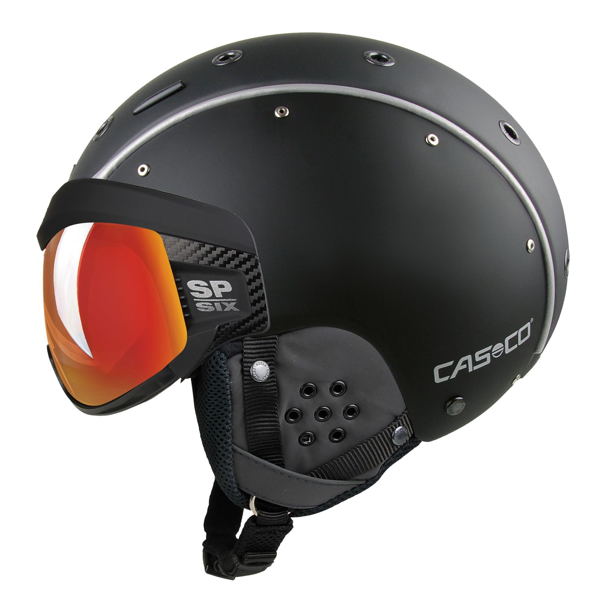 Afbeelding van Casco SP 6 Visier Vautron Multilayer Helm Black 52 54 Cm