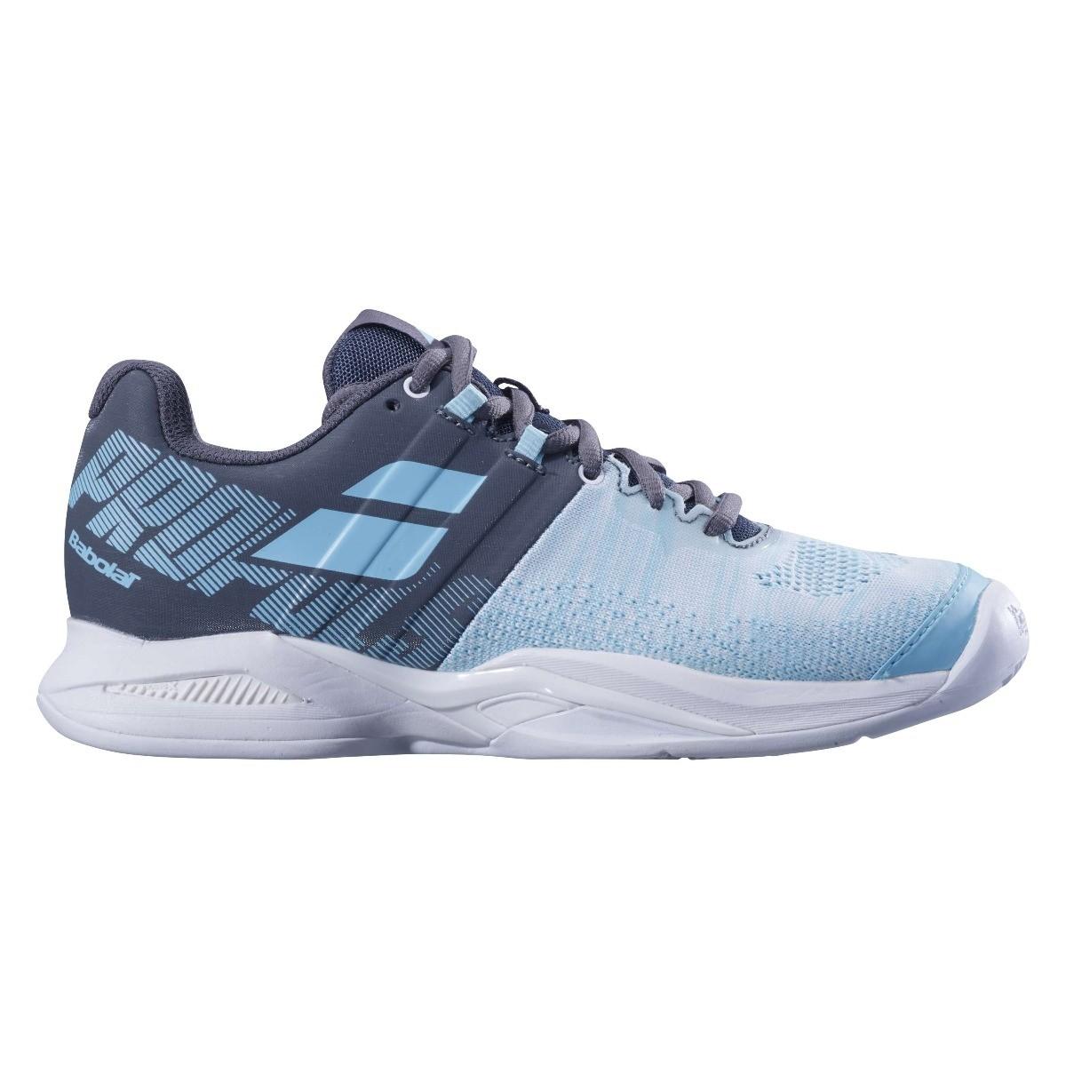 Afbeelding van Babolat Propulse Blast Clay Tennisschoenen Dames Grey Blue Radiance EU 37