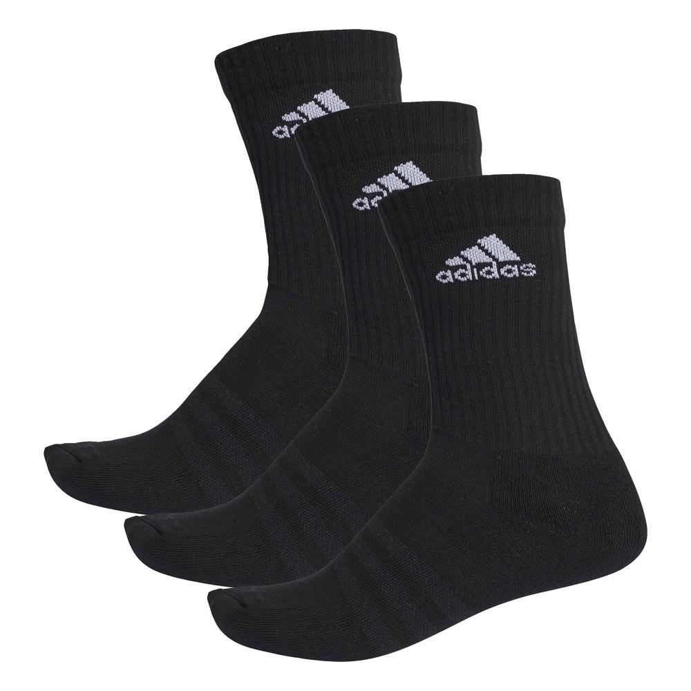 Afbeelding van Adidas 3 stripes Performance Sportsokken Black