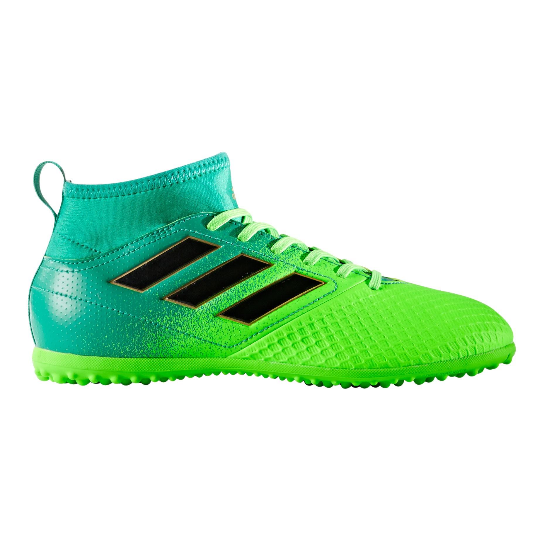Afbeelding van Adidas Ace 17.3 Primemesh TF BB1000 Voetbalschoenen Junior Solar Green Core Black