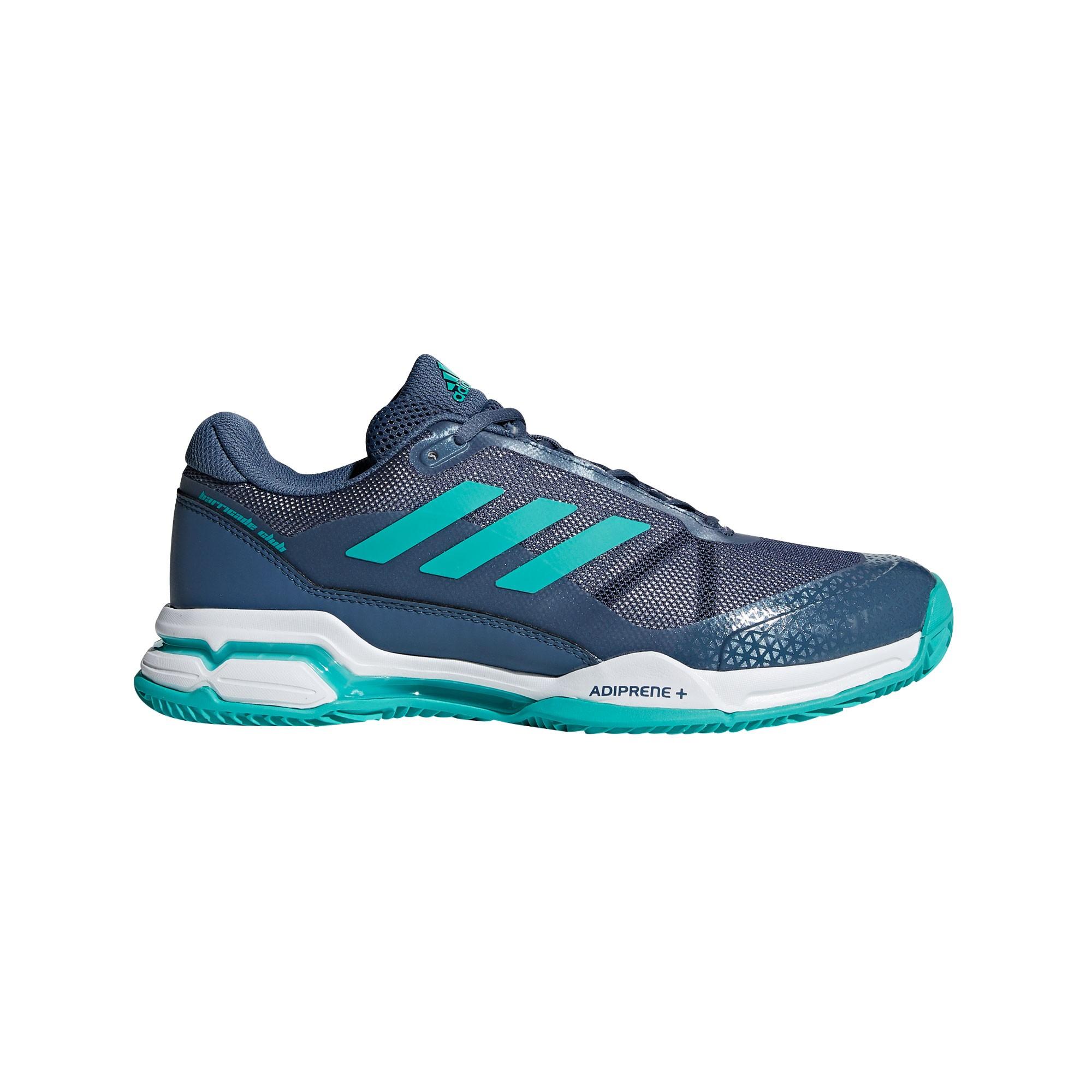 Afbeelding van Adidas Barricade Club Clay AH2081 Tennisschoenen Heren Tech Ink Aqua
