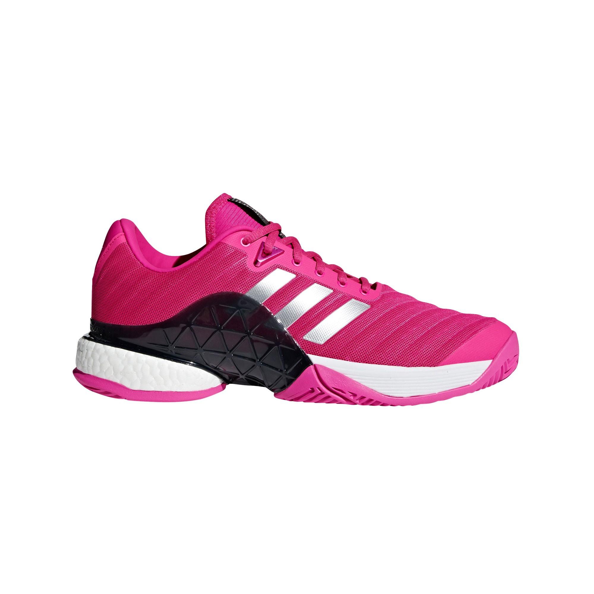 Afbeelding van Adidas Barricade Boost AH2093 Tennisschoenen Heren Shock Pink Matte Silver