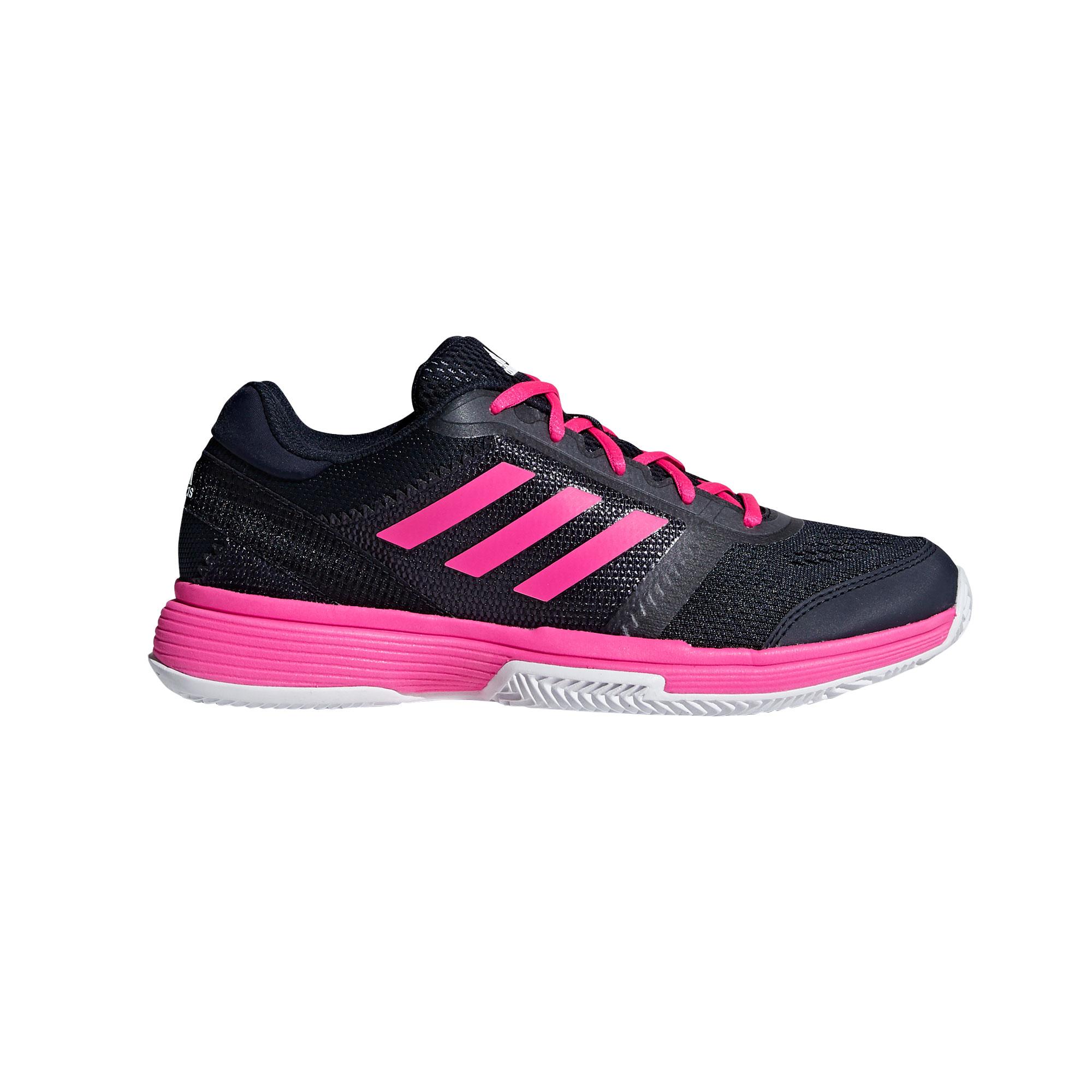 Afbeelding van Adidas Barricade Club Clay AH2100 Tennisschoenen Dames Legend Ink Shock Pink