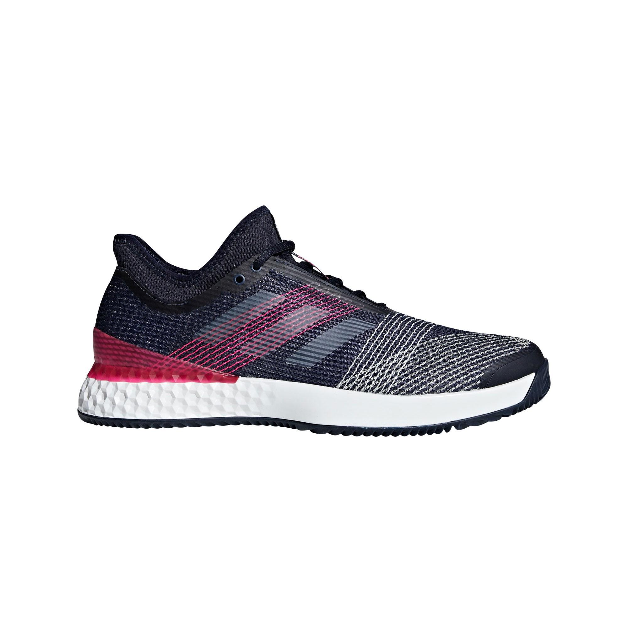 Afbeelding van Adidas Adizero Ubersonic 3.0 Clay AH2106 Tennisschoenen Heren Legend Ink Footwear White Shock Pink