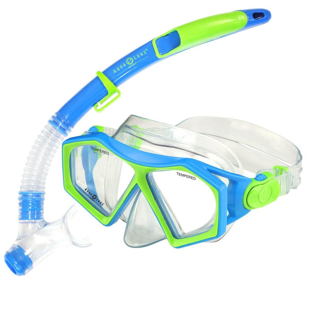 Afbeelding van Aqua Lung Sport Molokai DX Snorkelset Junior Groen