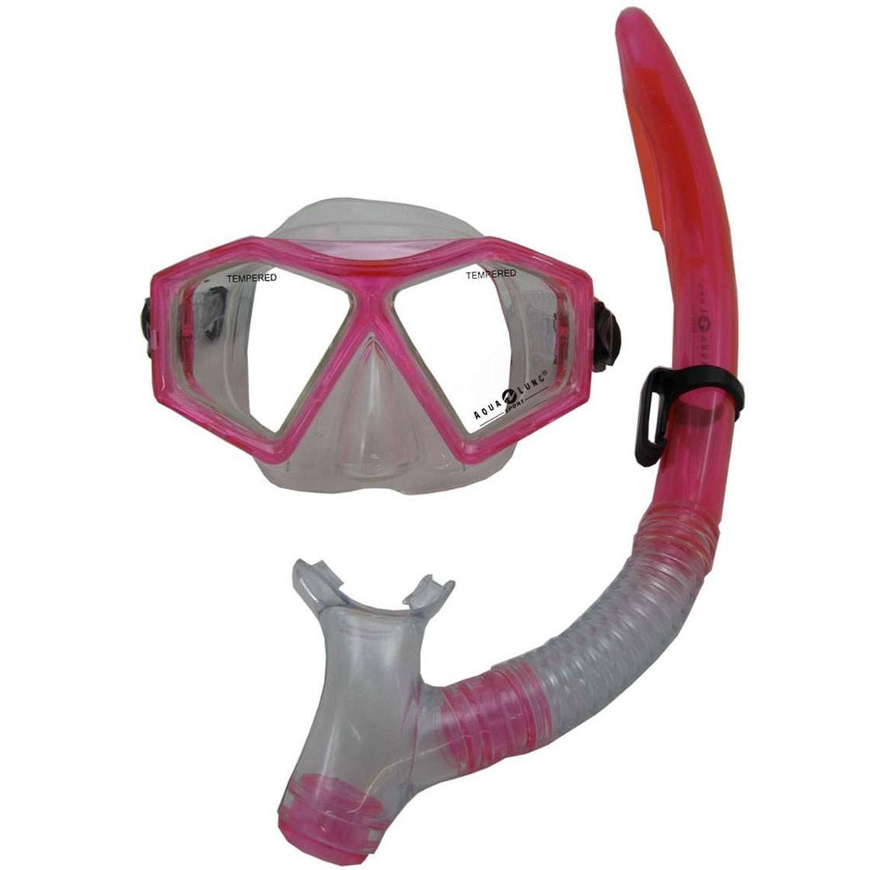 Afbeelding van Aqua Lung Sport Molokai DX Snorkelset Junior Roze