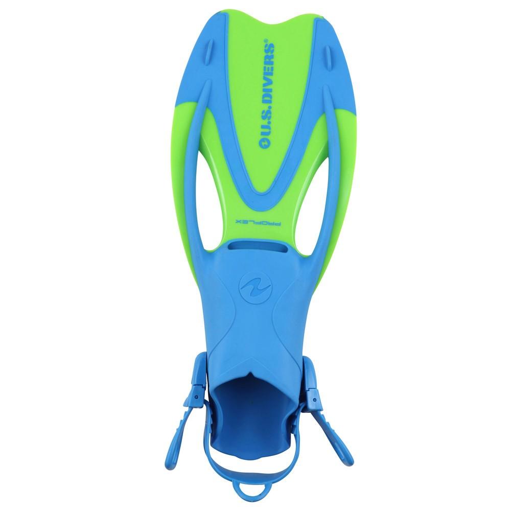 Afbeelding van Aqua Lung Sport Proflex II Zwemvliezen Junior Blauw Groen