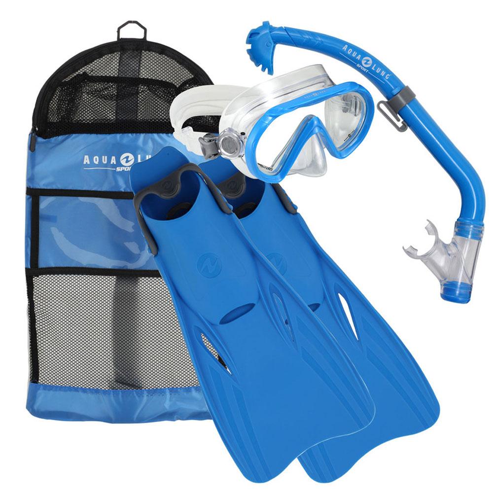 Afbeelding van Aqua Lung Sport Santa Cruz Snorkelset Junior EU 25 31