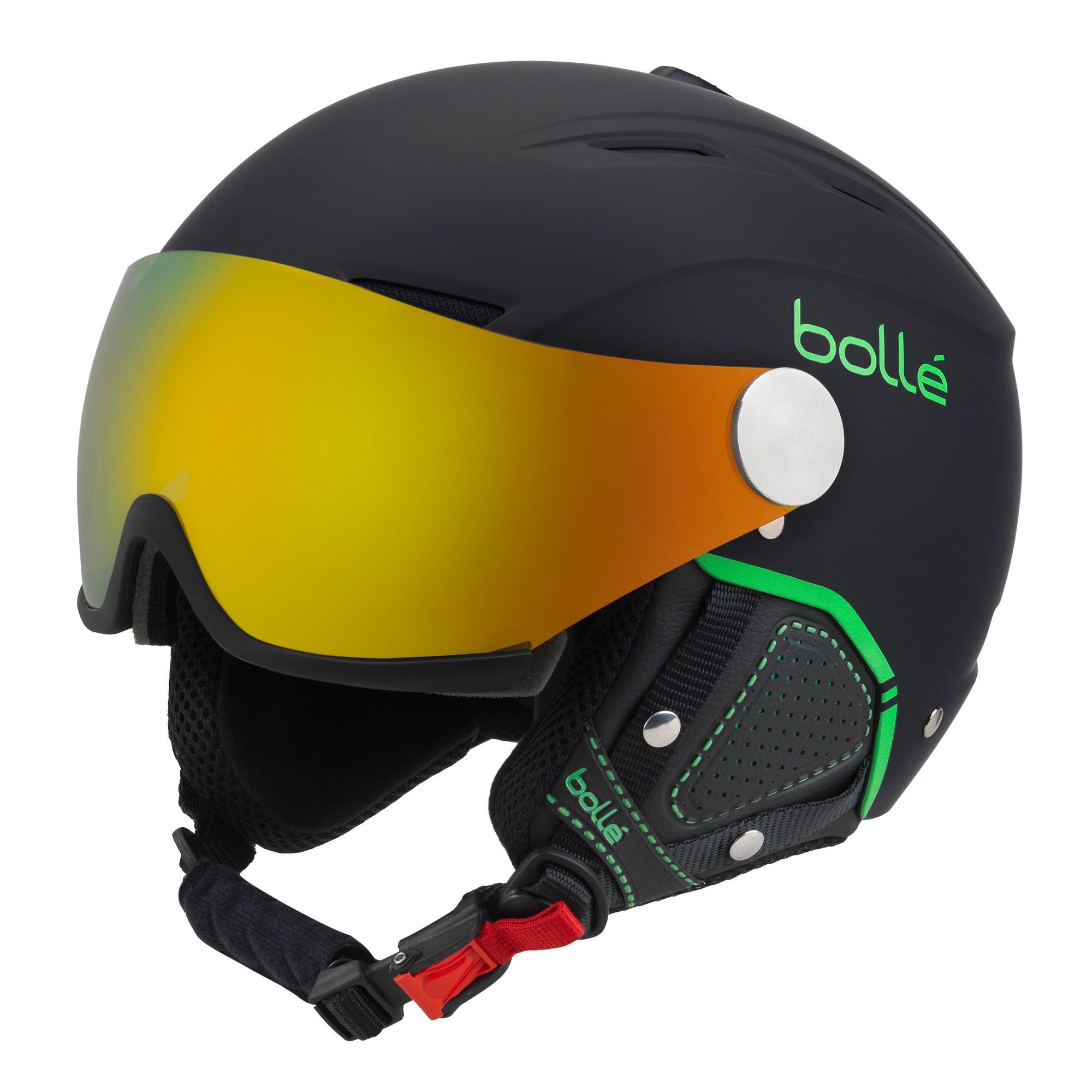 Afbeelding van Bollé Backline Visor Premium Helm Soft Black Green