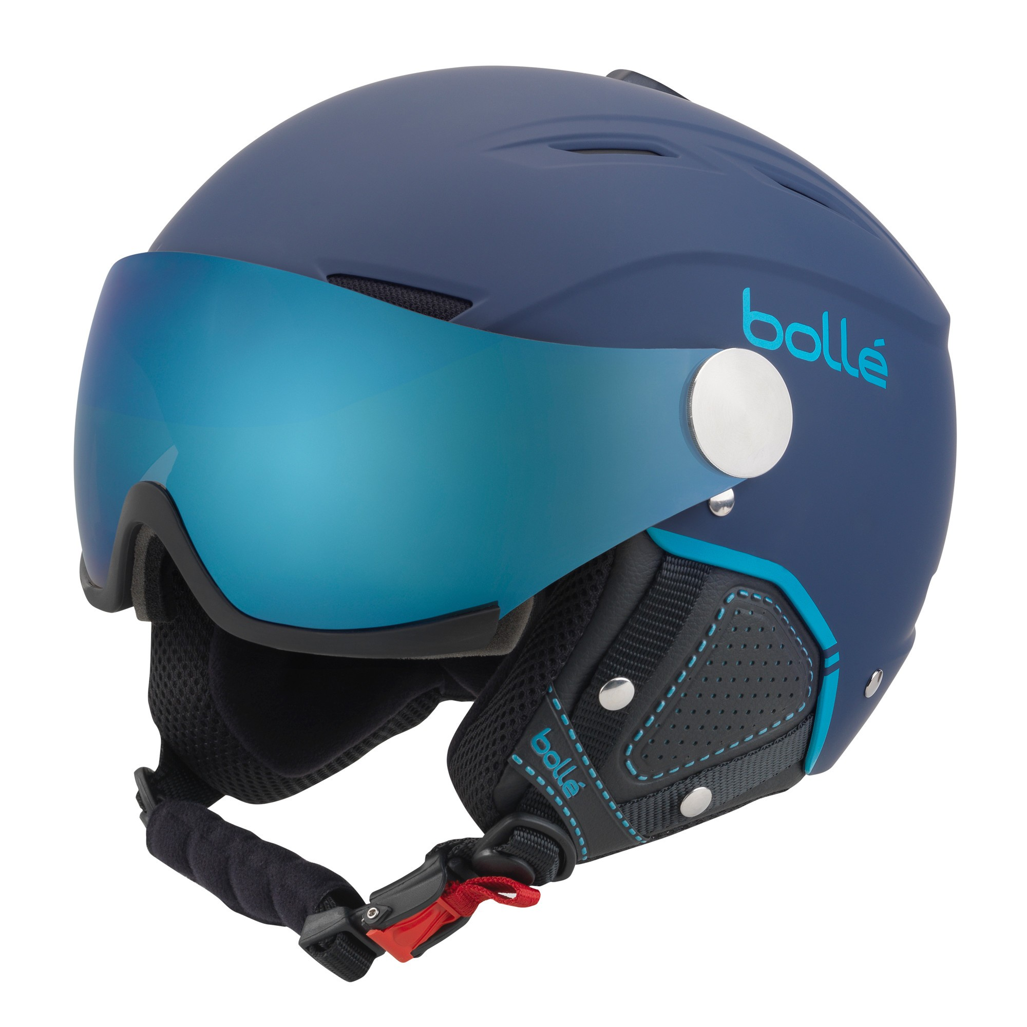 Afbeelding van Bollé Backline Visor Premium Helm Soft Navy Cyan