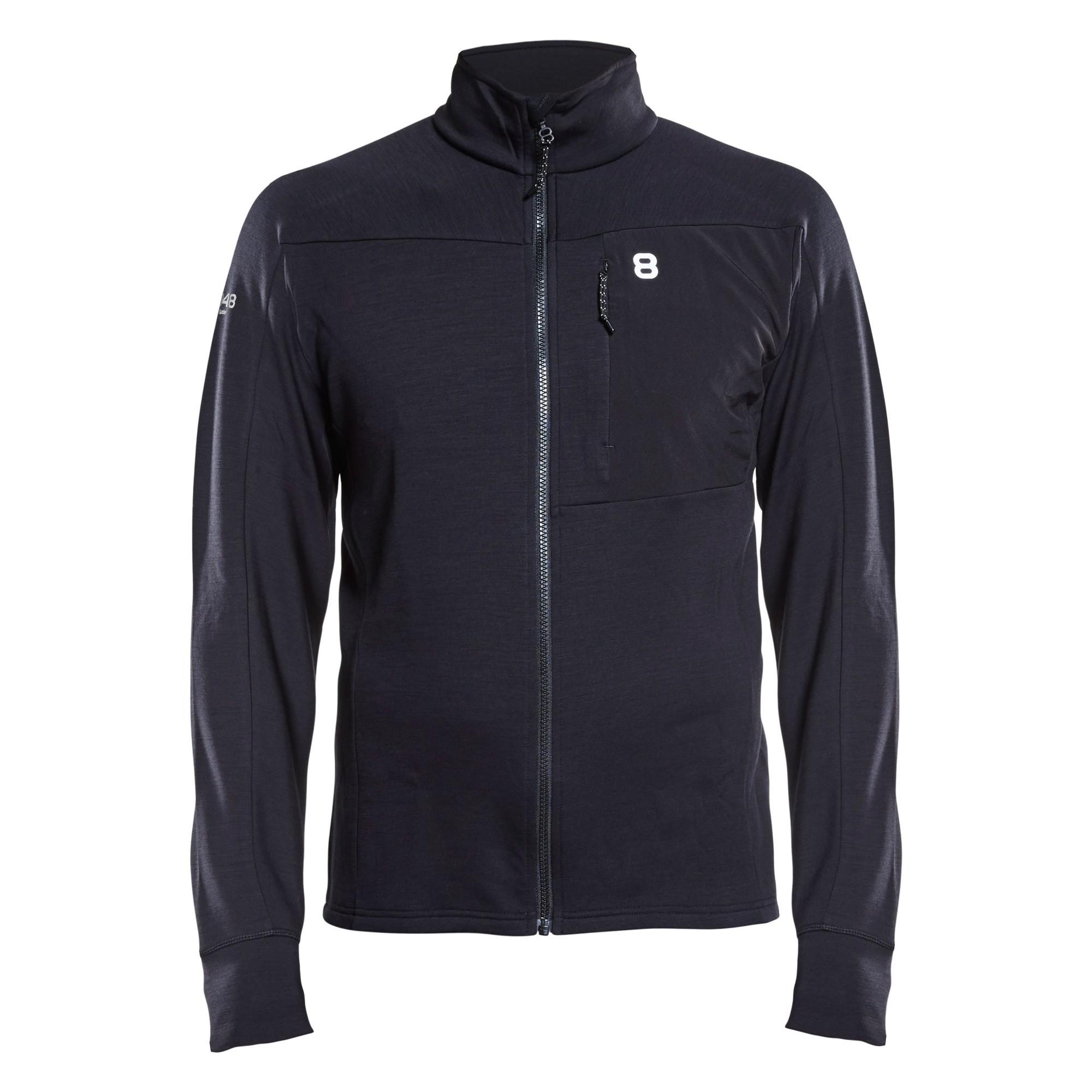 Afbeelding van 8848 Altitude Bathurst Wool Sweat Vest Heren Black