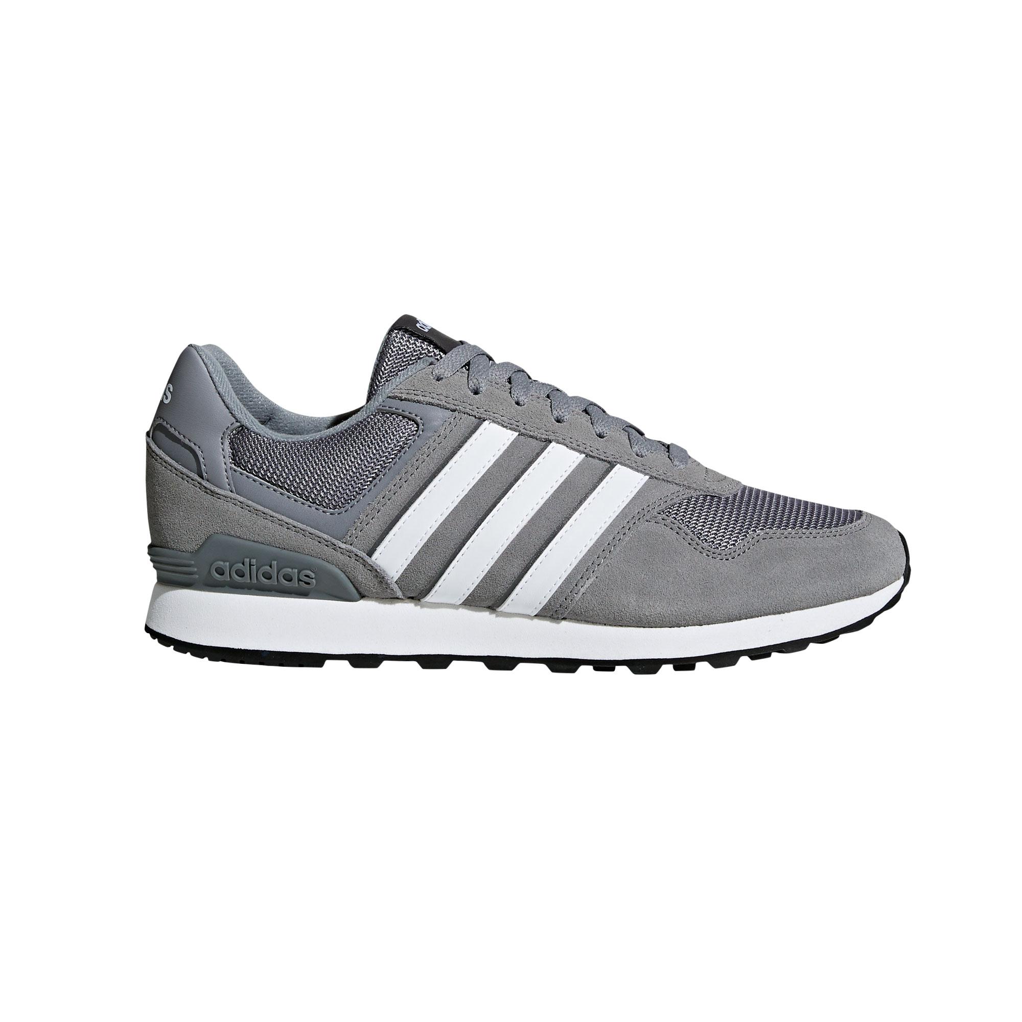 Afbeelding van Adidas 10K BB7378 Vrijetijdsschoenen Heren Grey Footwear White
