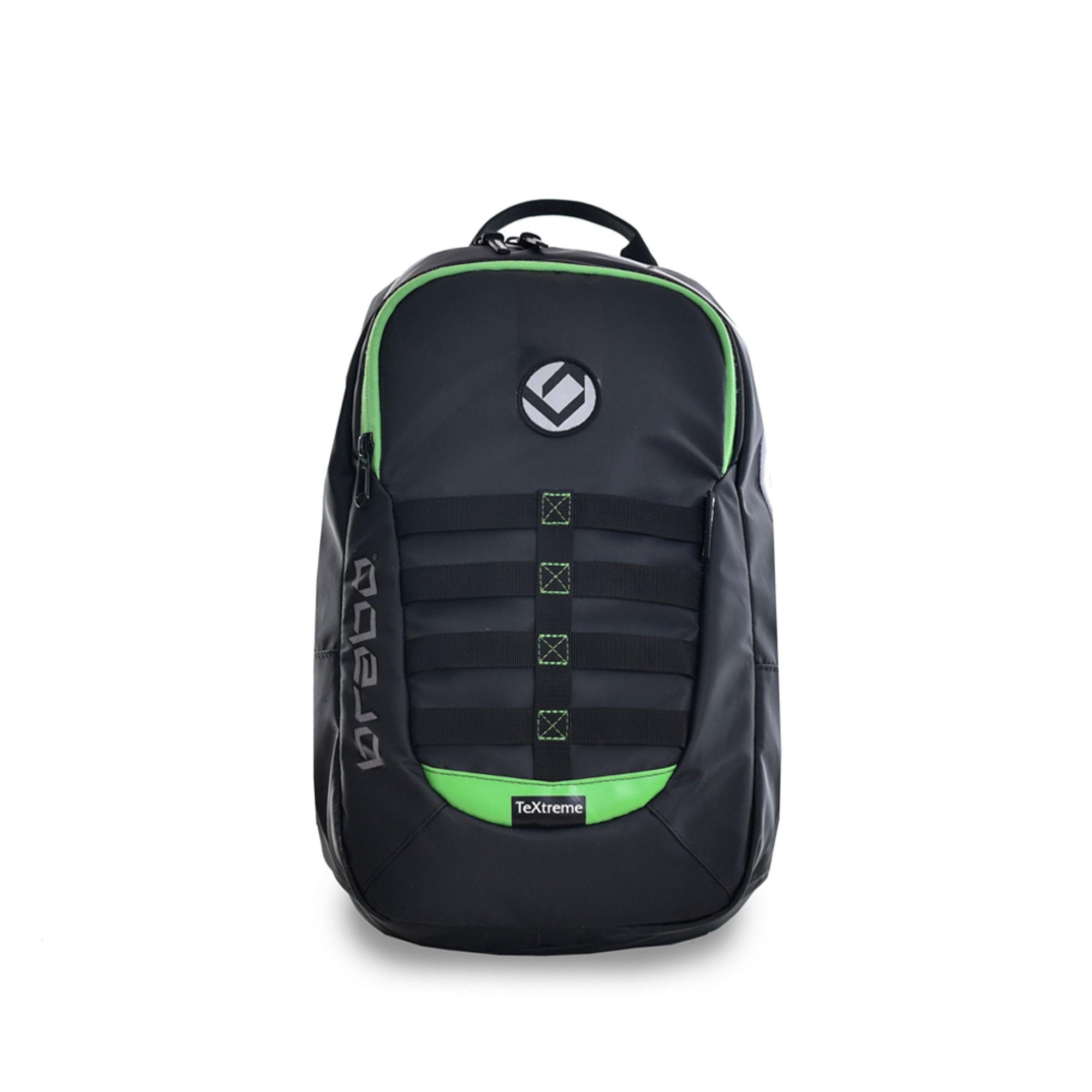 Afbeelding van Brabo Backpack TeXtreme Hockeytas Junior Black Green