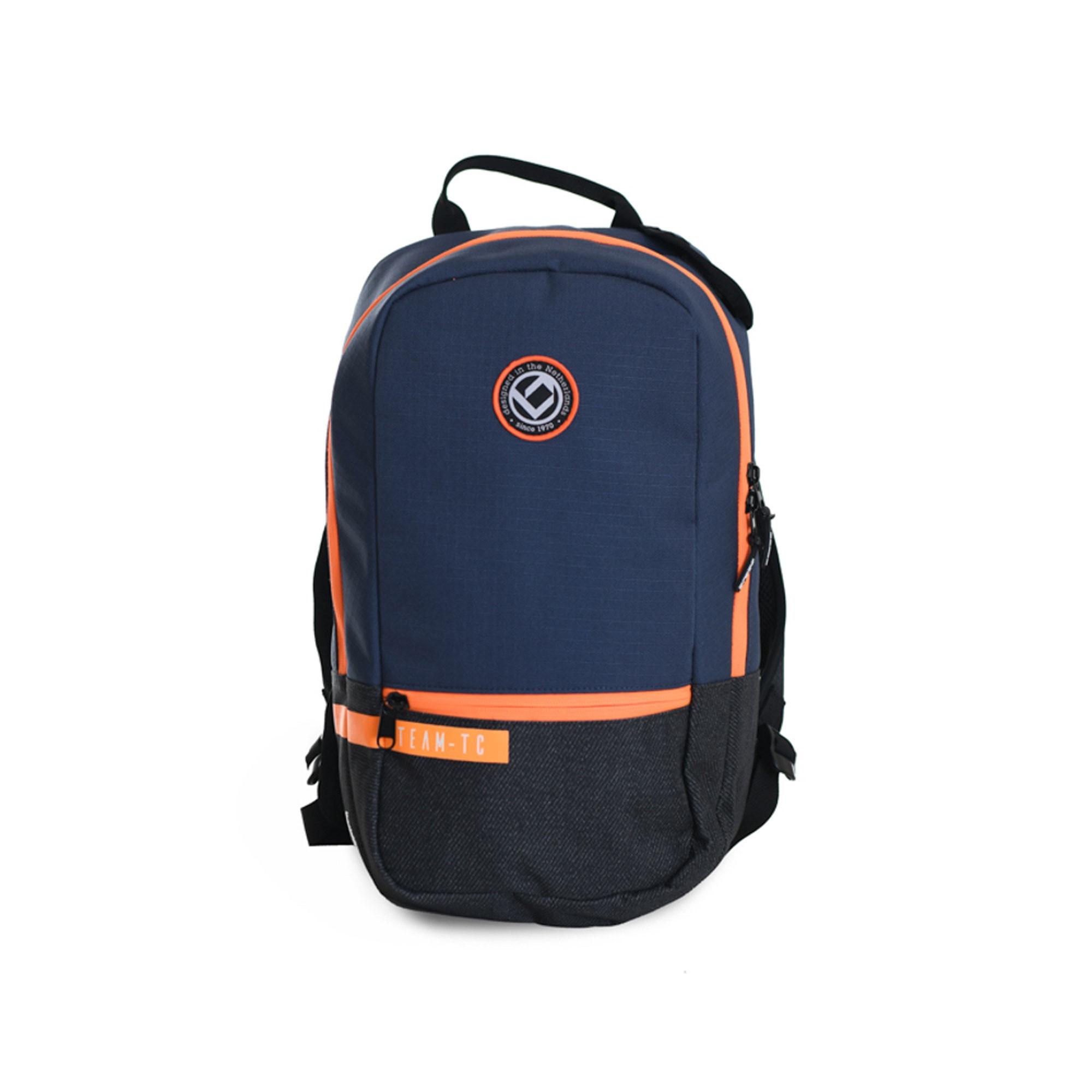 Afbeelding van Brabo Backpack Team TC Hockeytas Junior Blue Black Orange