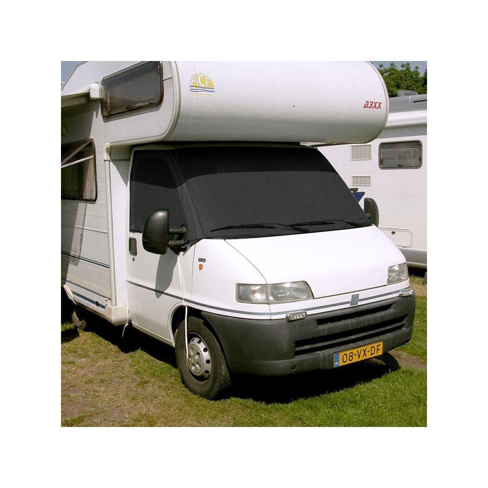 Afbeelding van Bupho Cabine Sunblocker Ford Transit Van 2000 Tot 2014 Zwart