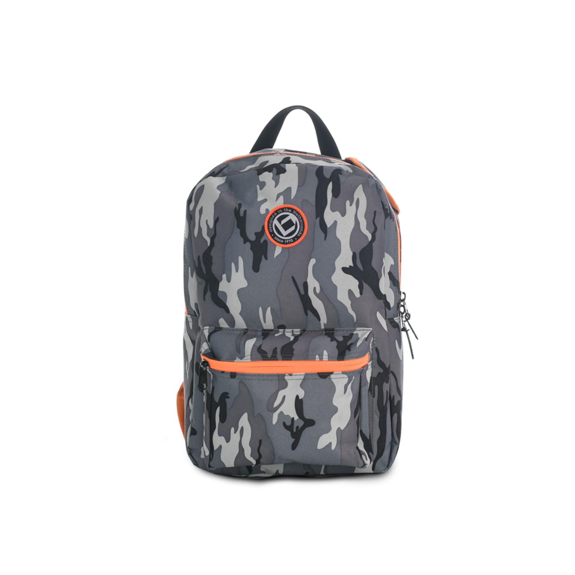 Afbeelding van Brabo Backpack Storm Camo Hockeytas Orange