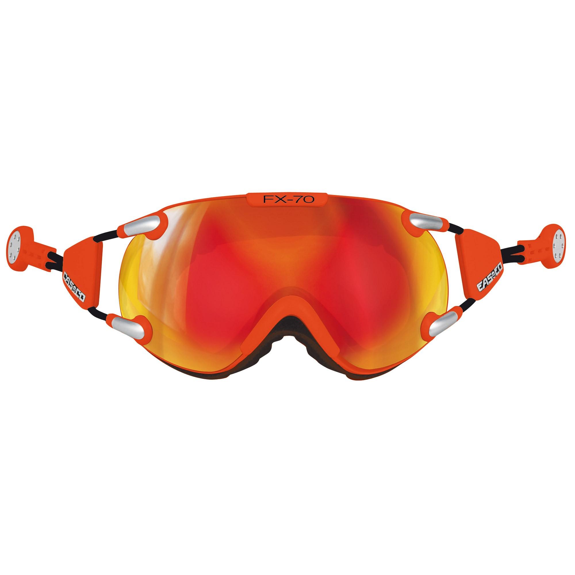 Afbeelding van Casco FX70 Carbonic Skibril M Neon Orange
