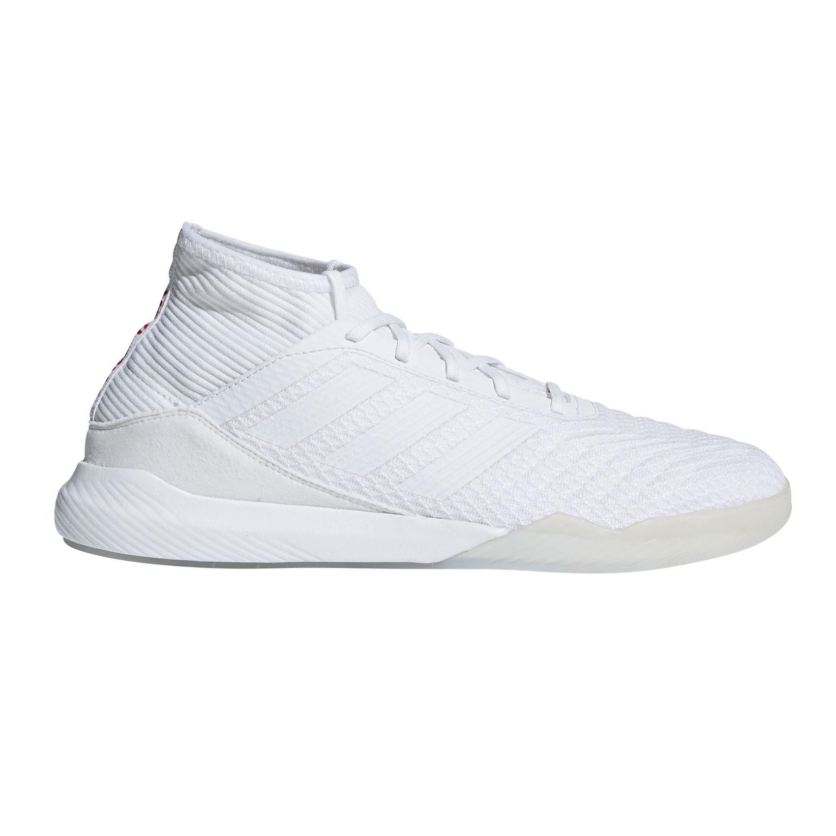 Afbeelding van Adidas Predator Tango 18.3 CM7703 Vrijetijdsschoenen Heren Footwear White Core Black Real Coral