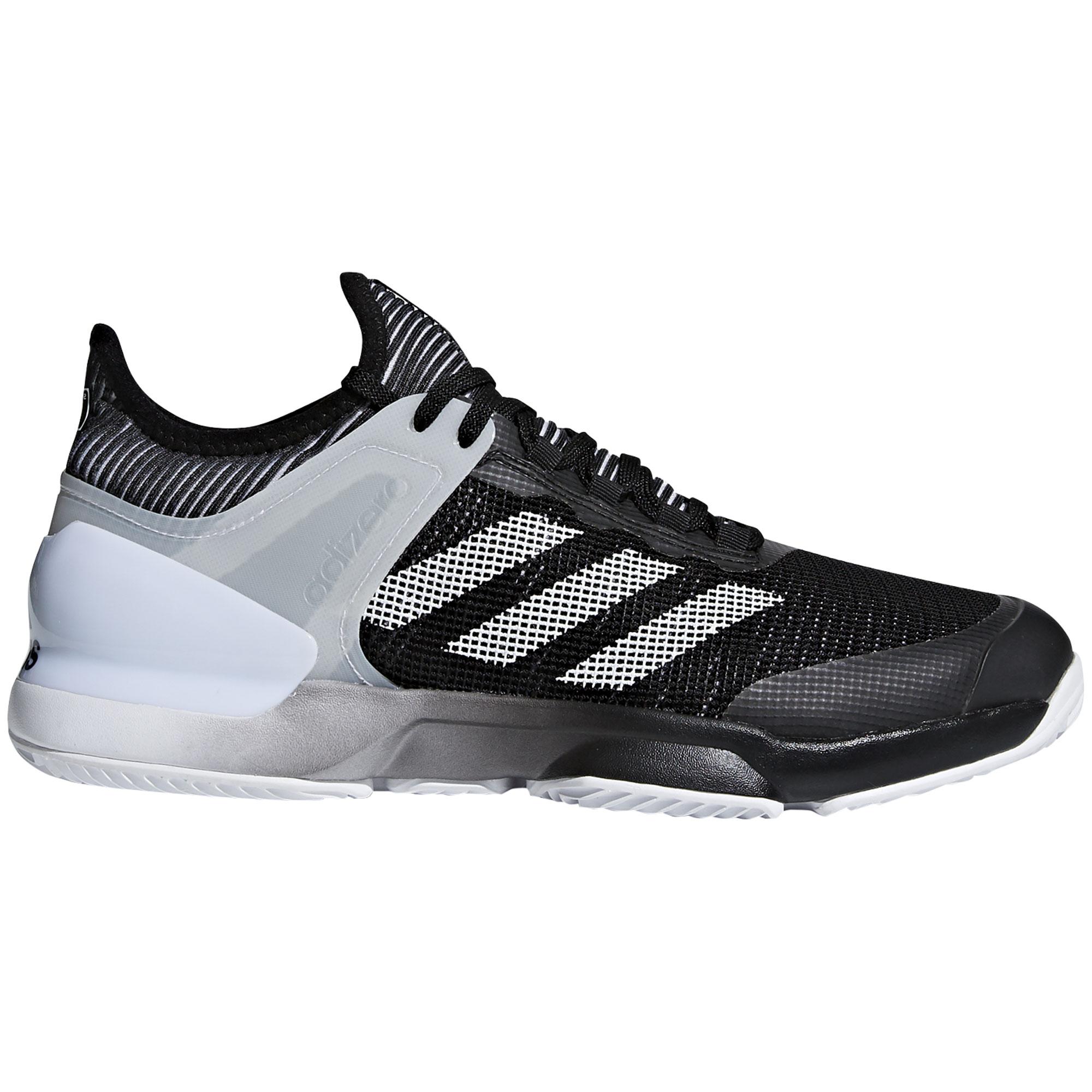 Afbeelding van Adidas Adizero Ubersonic 2.0 Clay CM7746 Tennisschoenen Heren Core Black White