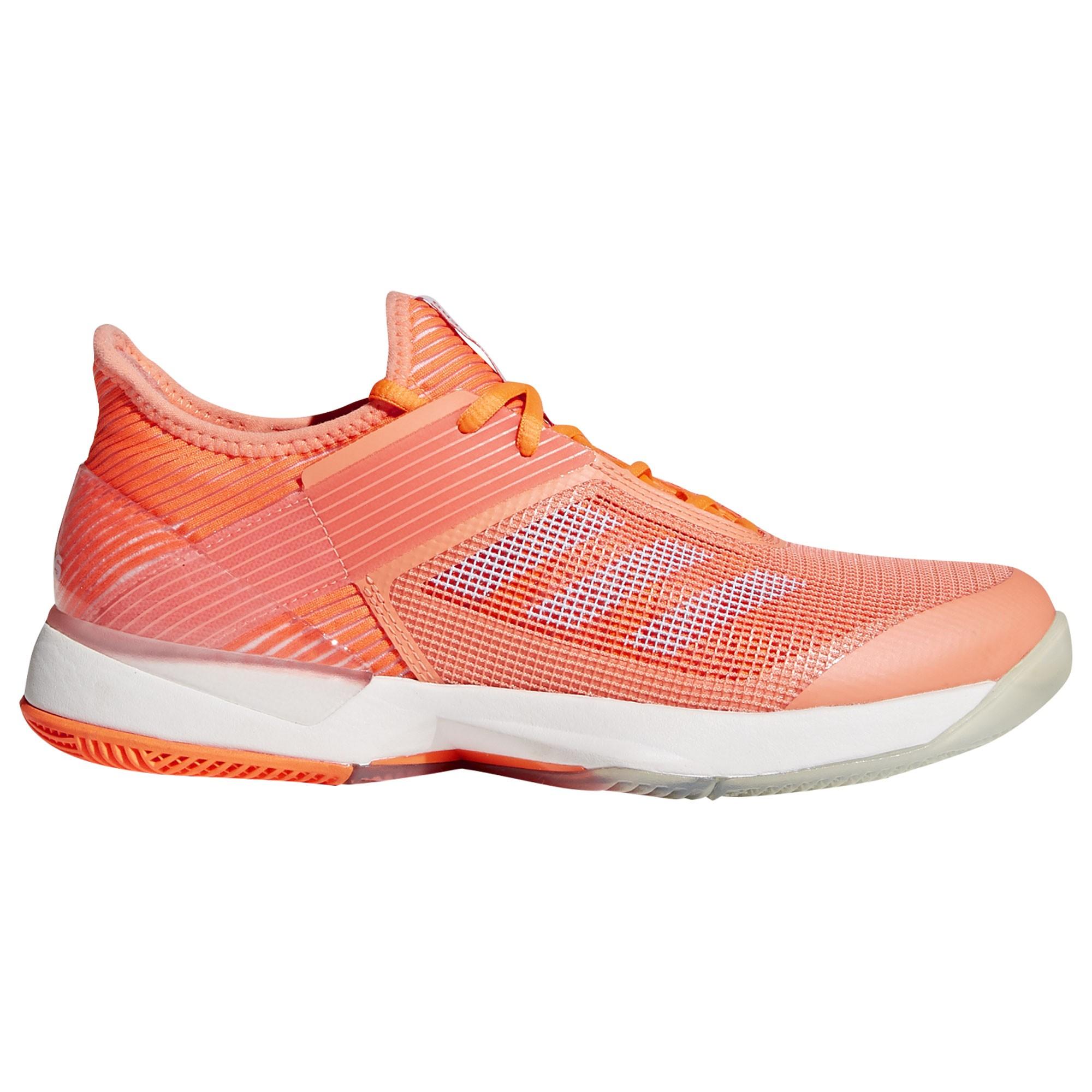 Afbeelding van Adidas Adizero Ubersonic 3.0 CM7751 Tennisschoenen Dames Chalk Coral Hi res Orange