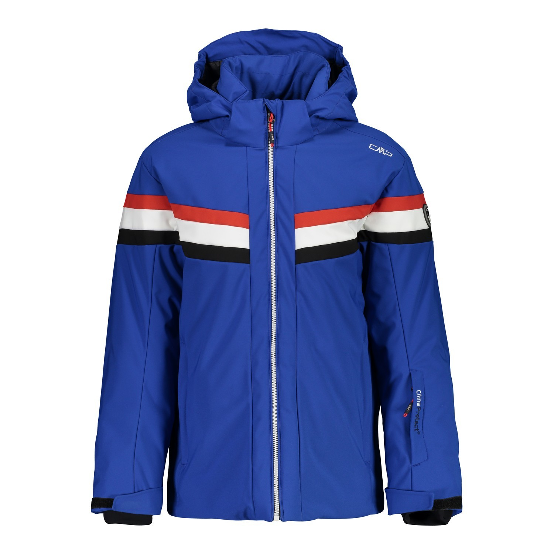 Afbeelding van CMP Boy Jacket Snaps Hood 38W0244 Winterjas Junior Royal