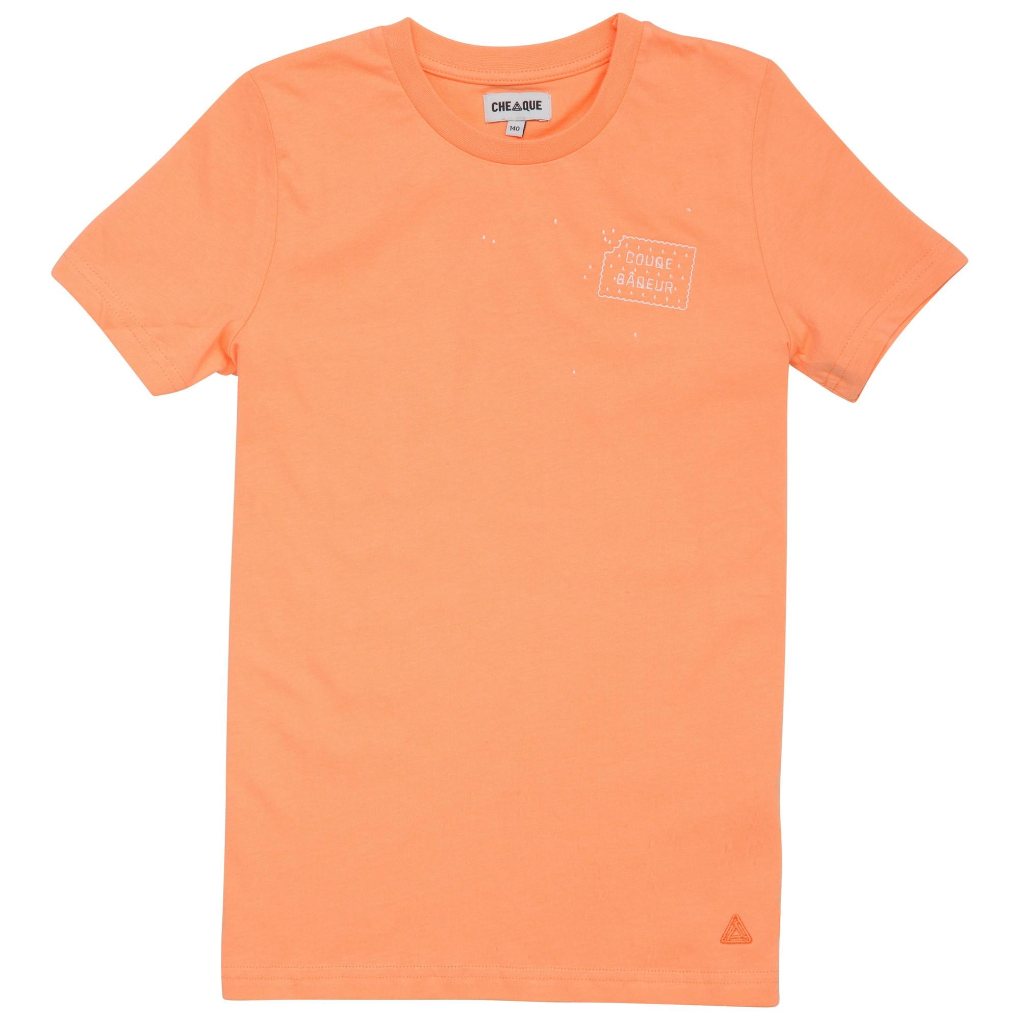 Afbeelding van Cheaque Couqe Baquer Shirt Junior Coral Orange 104
