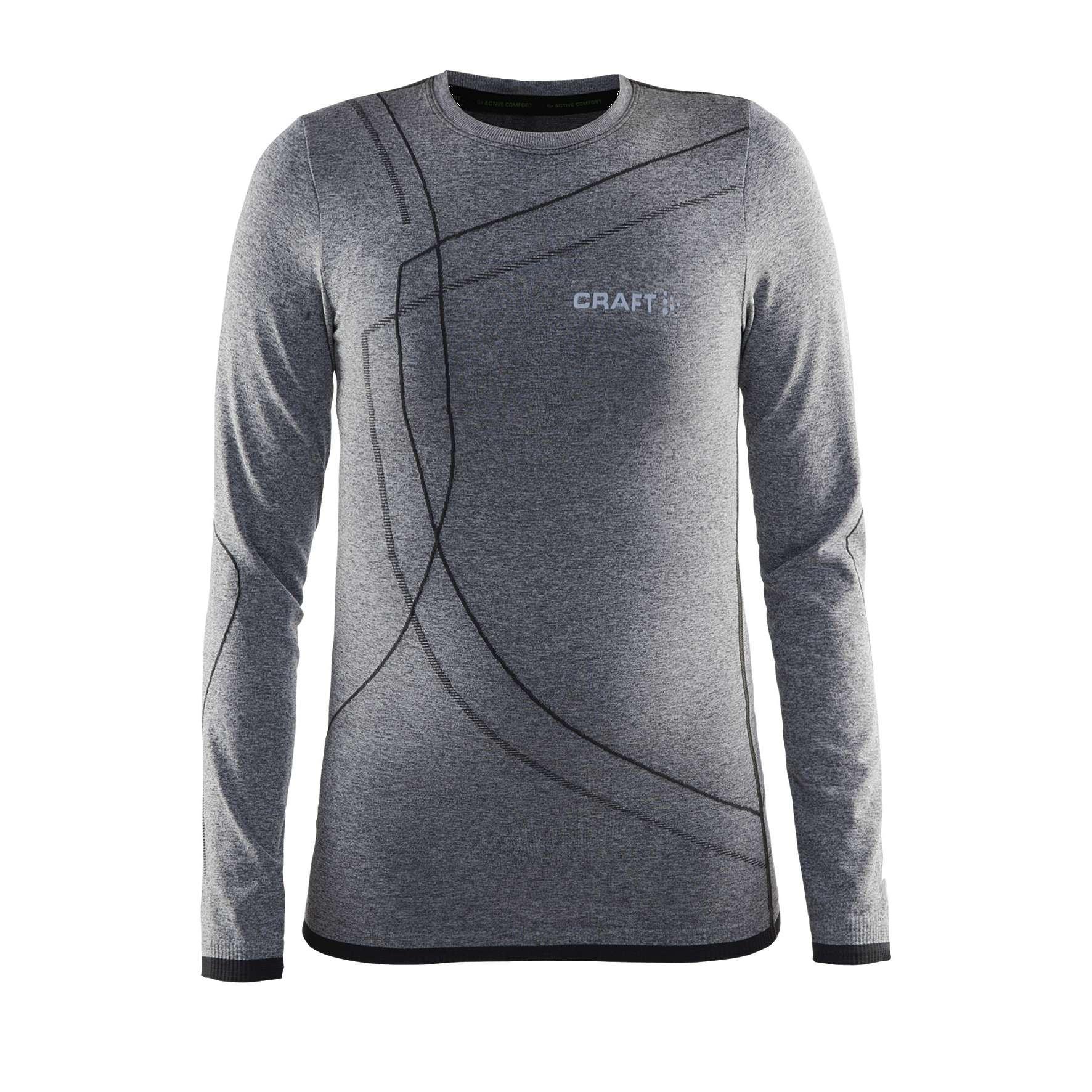 Afbeelding van Craft Active Comfort RN LS Thermoshirt Junior Black