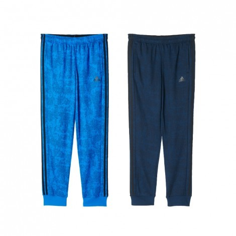 Adidas Tapered Pant Allover Print trainingsbroek heren alle