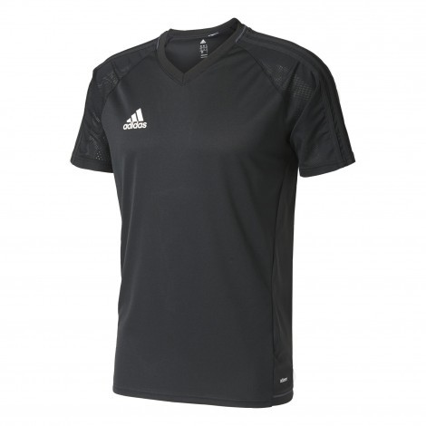 Adidas Tiro17 Training voetbalshirt heren black