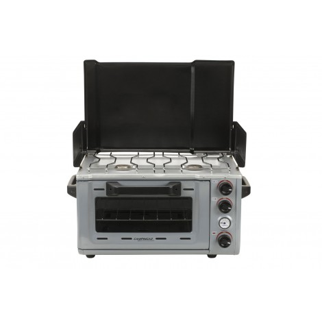Camping stove oven