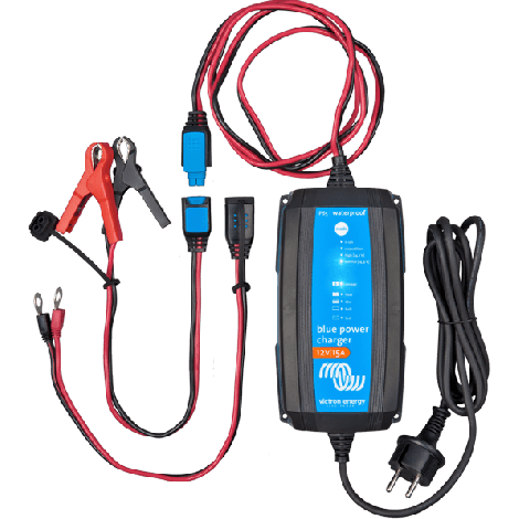 Blue Power acculader 15A