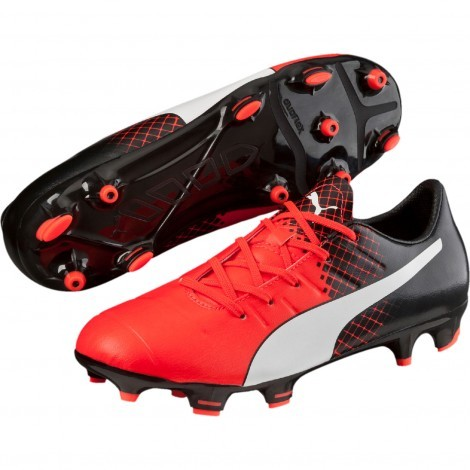 Puma evoPOWER 3.3 Tricks FG 103622 voetbalschoenen junior red black
