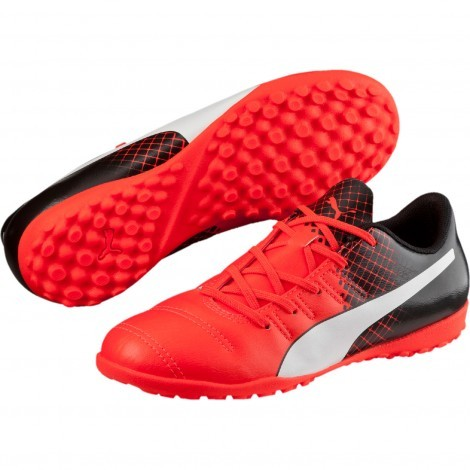 Puma evoPOWER 4.3 Tricks TT 103627 voetbalschoenen junior red black
