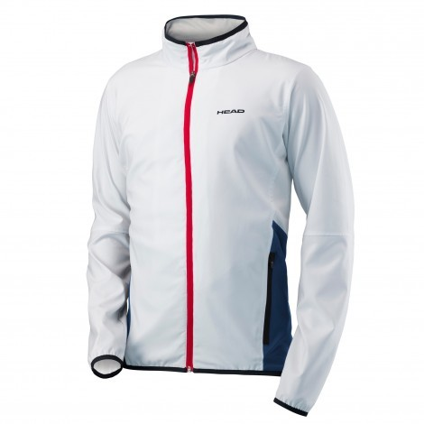 Head Club trainingsjack heren white