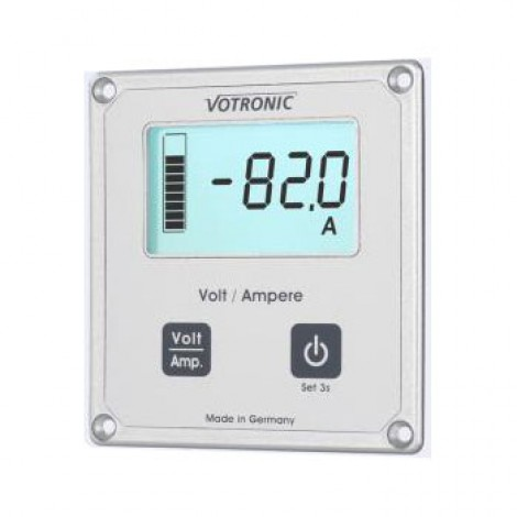 LCD display volt- en ampèremeter