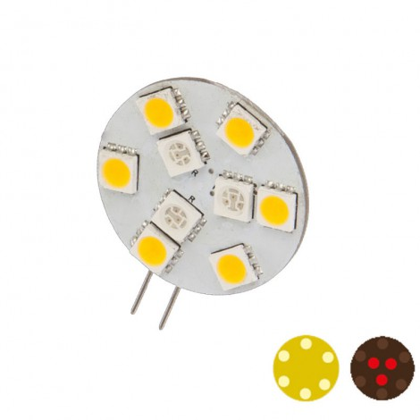 G4 Dual Color 9 side pin ledverlichting