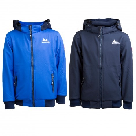 Nord Cape Lasse softshell junior overview