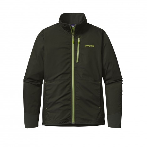 Patagonia All Free softshell jack heren Kelp forest