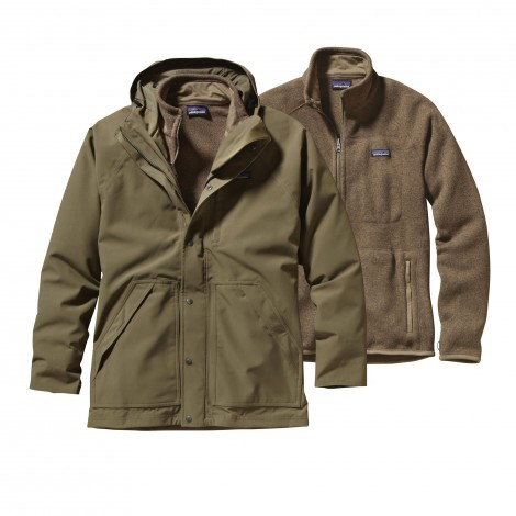 Patagonia Better Sweater 3-in-1 parka heren fatigue green