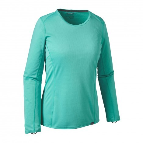 Patagonia Capilene Midweight Crew shirt dames Howling turquoise