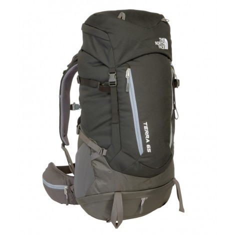 The North Face Terra 65 rugzak tnf black asphalt grey