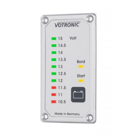 LED display duo voltmeter